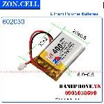 Pin Li Po Zoncell 400mah 602030mm hpvn