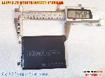 bán pin Lithium Polymer samsung  Li Po  3 7V 4570mah 825575 805775 tại hà nội Battery