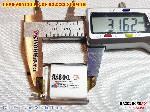 3 Lipo 800mAh 622832 Zoncell 38v battery