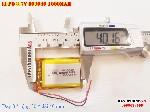 bán pin Lithium Polymer  Li Po  3 7V 1000mah 803040 tại hà nội battery battery