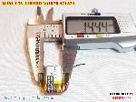 2 Lipo 110mAh 501520 37v battery
