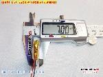 bán pin Lithium Polymer  Li Po  3 7V 750mah 752050 702050 tại hà nội Battery