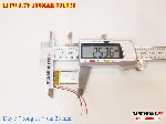 bán pin Lithium Polymer  Li Po  3 7V 150mah 501525 tại hà nội
