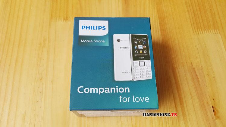 Mở hộp trên tay điện thoại Philips E170 chức năng Bluetooth Call