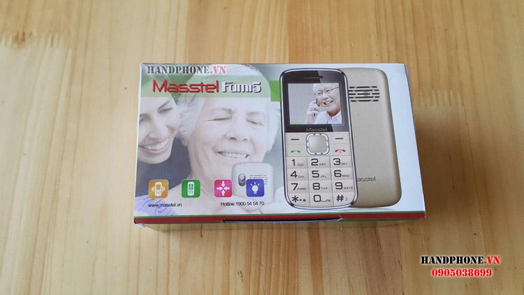 Mở hộp điện thoại dành cho người già Masstel Fami5